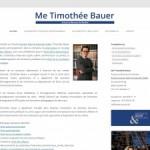 Me Timothée Bauer – droit des affaires à Genève