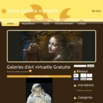 Galerie d'art virtuelle