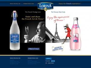 Lorina limonade et boissons aux fruits