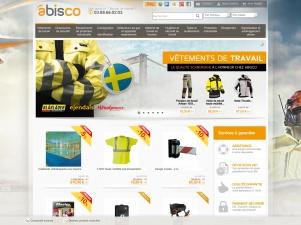 Abisco : Vente en ligne d'équipements de Protection Individuelle, vêtements de travail,  et chaussures de sécurité.