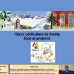Cours particuliers maths06 : Des cours de soutien en Maths sur Nice et environs