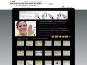 Isabel.com : Achetez votre bague de fiançailles an diamant à prix discount