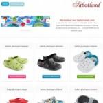 Sabotland: Sabot plastique