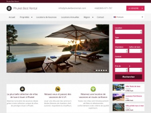 Phuket Best Rental, agence de locations de villas de luxe