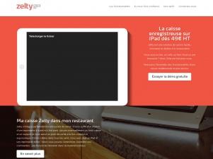 Zelty, la caisse enregistreuse pour restaurant sur ipad