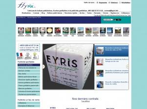 FlyPix: Ballon publicitaire