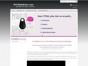 IOT-WebStore.com – La boutique des objets connectés iTAG anti-perte.
