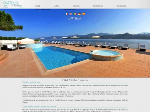 Hotel Casteldorcino situé à 20 km d'Ajaccio