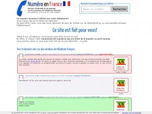 Numéro de téléphone en France