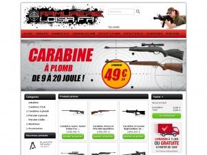 Armurerie-Loisir, vente en ligne