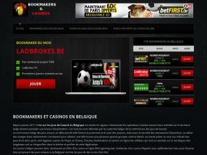 Bookmakers et casinos autorisés en Belgique