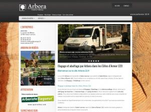 Arbora, débroussaillage dans les Côtes d'Armor (22)