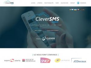 Clever Technologies : Solution de marketing par SMS