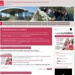 La Cadène – bac pro horticole