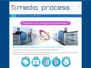 Mediaprocess.be, une imprimerie en ligne