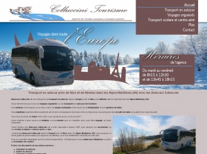 Autocars Collucinni, des voyages organisés en autocar