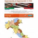 Supermarchés et Hypermarchés en Italie