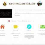 Budget Vacances Thailande