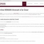 Catherine KIMAN: Avocat spécialiste du droit du travail