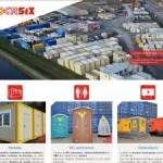 Locasix: Location de containers en Belgique