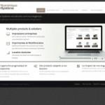 Numérique système – Vente matérielle et machines d'imprimerie multifonction