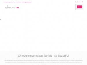 So Beautiful : Chirurgie esthétique et beauté