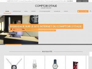Comptoir d'Italie: les bijoux et montres de qualité