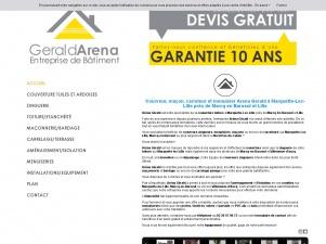 Gérald Arena, entreprise de bâtiment à votre service!