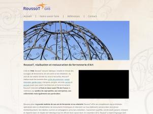 Serrurerie Roussot : spécialiste dans la ferronnerie d'art dans le 78