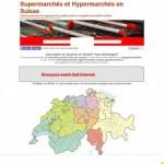 Supermarchés et Hypermarchés en Suisse