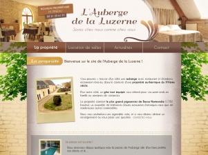 Auberge de la Luzerne, hôtel, gîte, restaurant et salle des fêtes en Normandie