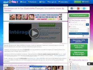 Chatocam.com, chatroulette et rencontre par tchat webcam 100% gratuit !