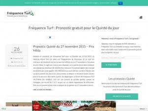 Frequence Turf : Actualité et pronostic hippique