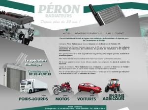 Peron Radiateurs, spécialiste des radiateurs de véhicules dans le Finistère (29)