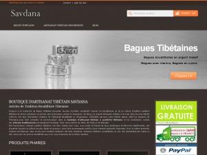 Savdana, bijoux Tibétains