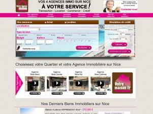Achetez et louez à Nice avec Votre Agence Immo