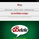 Re-Belote : Jeu de belote en ligne