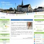 Site internet de la ville de Villeneuve les Sablons, en Picardie