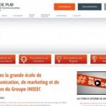 Sup de Pub, école de communication du groupe INSEEC
