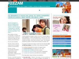 Keezam, préparation des voyages scolaires, colonies de vacances et camps