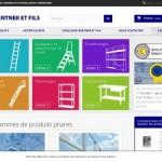 Gentner & Fils, vente en ligne d'échelles