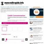 Mon crédit rapide – Un guide personnalisé sur le crédit à la consommation