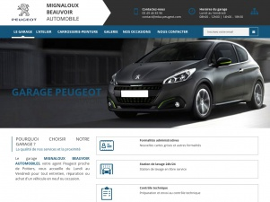 Agent Peugeot Malignoux Beauvoir Automobile