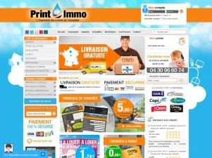 Printimmo, imprimerie en ligne
