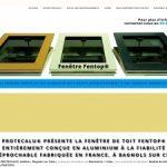 Protecalu pour une fenêtre de toit moderne et raffinée