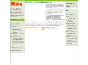 Rachatducredit.com : Comprendre l'univers bancaire et les crédits