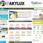 Topakylux, fournisseur de panneaux en akylux