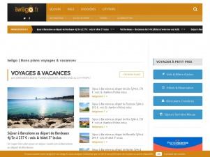 iwiigo : le blog des bons plans voyages