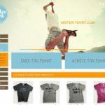 Mister-Tshirt.com, achète et personnalise ton tshirt en ligne.