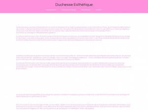 Duchessse Esthétique – centre de soins esthétiques à domicile pour hommes et femmes dans le Calvados (14)